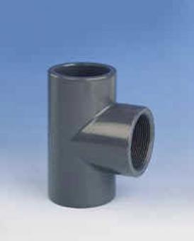 """T - Stück 90° egal PVC PN16 G = 3/8"""""""