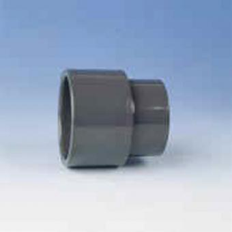 Reduktion, lang PVC PN16 d = 75 / 63 - 20