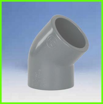 Winkel 45° PVC PN16 d = 16