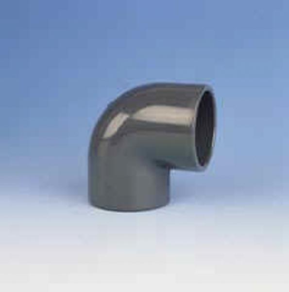 Winkel 90° PVC PN16 d =  25